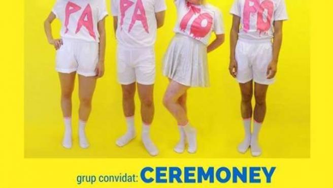 Cartel del concierto de Papa Topo