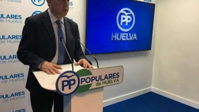 El diputado nacional por el PP Carmelo Romero.
