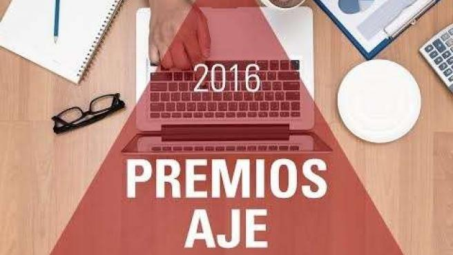 Cartel de los Premios AJE 2016
