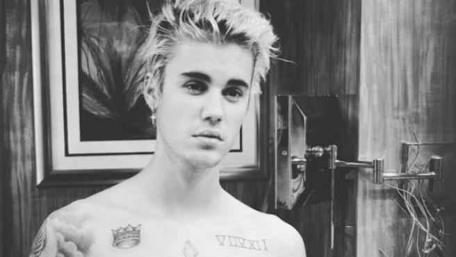 El cantante Justin Bieber, en una foto reciente.