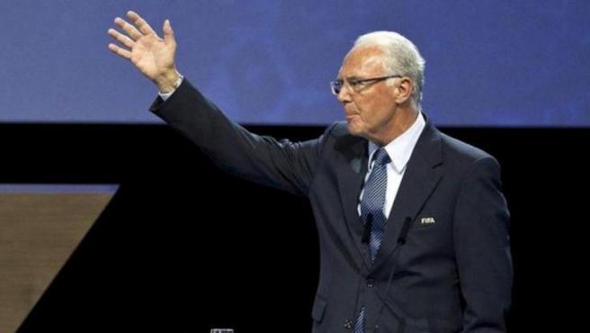 Franz Beckenbauer, exjugador de fútbol alemán.