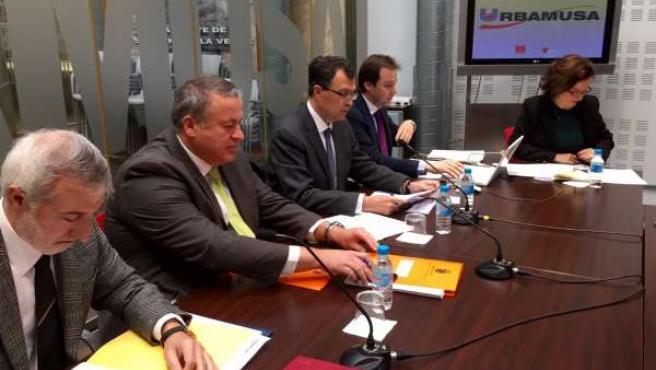 Reunión del Consejo de la Urbanizadora Municipal