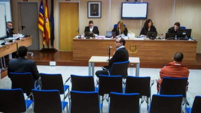Imagen de la sala donde se lleva a cabo el juicio por el caso Nóos.