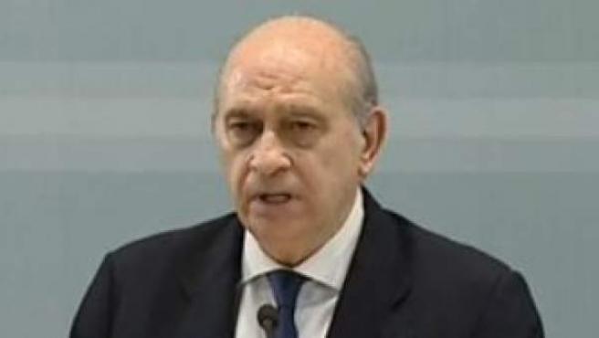 El ministro del Interior en funciones, Jorge Fernández Díaz.