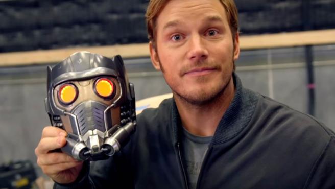 De paseo con Chris Pratt por el set de 'Guardianes de la Galaxia Vol. 2'