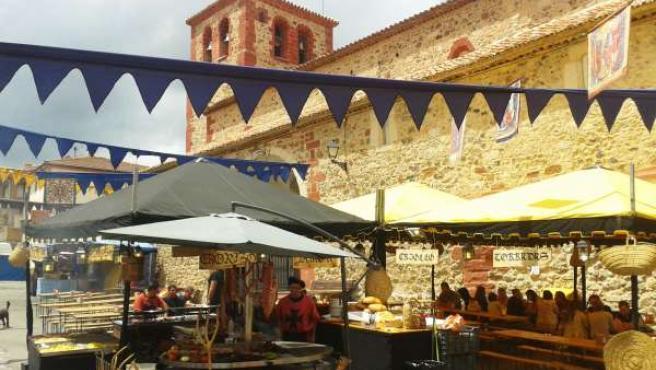 Mercado Medieval en Bronchales (Teruel)