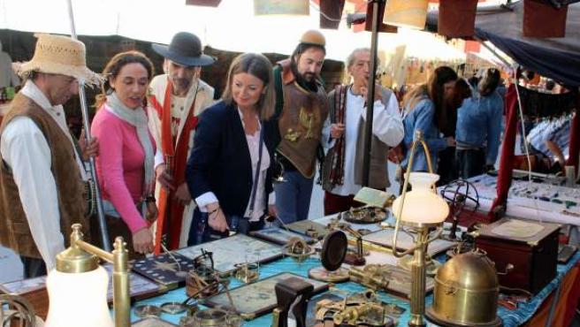 Mercado Cervantino en El Ejido (Almería)