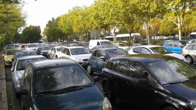 Atasco, tráfico