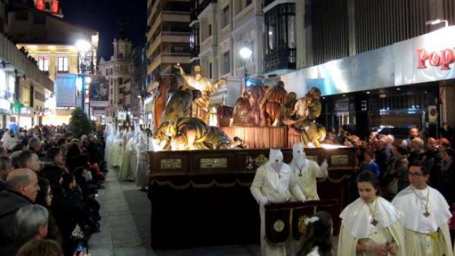 Procesión general del Viernes Santo en Valladolid