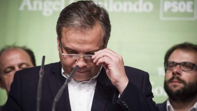 Antonio Miguel Carmona, candidato del PSOE a la Alcaldía de Madrid