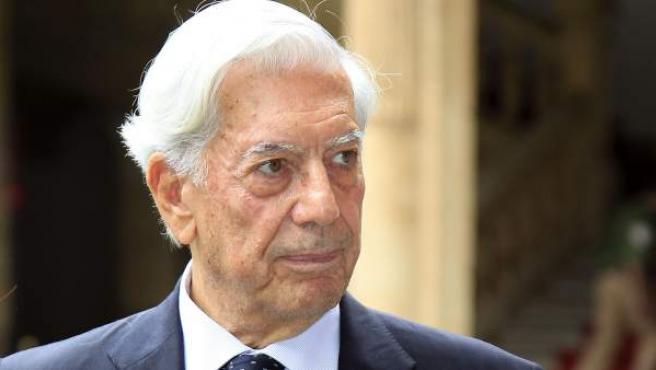 Mario Vargas Llosa en Salamanca el pasado mes de septiembre cuando fue nombrado Doctor Honoris Causa por la prestigiosa universidad de la ciudad.