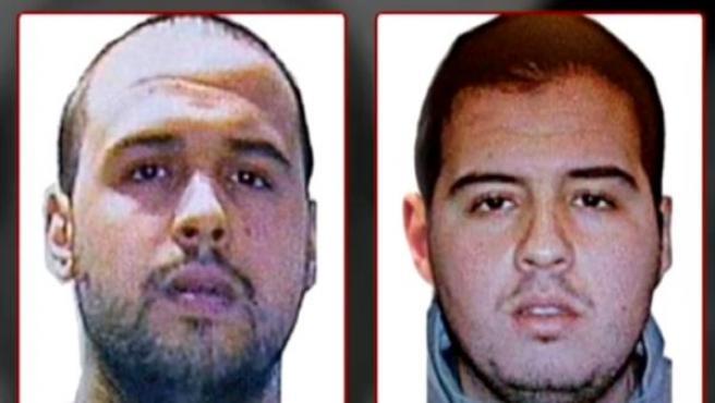 Dos de los autores de los atentados terroristas de Bruselas son los hermanos El Bakraoui (Khalid (i) e Ibrahim (d)), según ha confirmado la Fiscalía Belga.