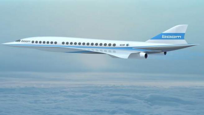 Proyecto del avión de Boom.