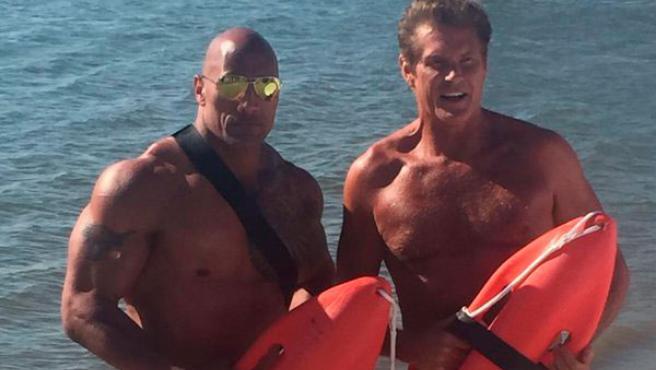 Primer vistazo a David Hasselhoff en 'Los vigilantes de la playa'