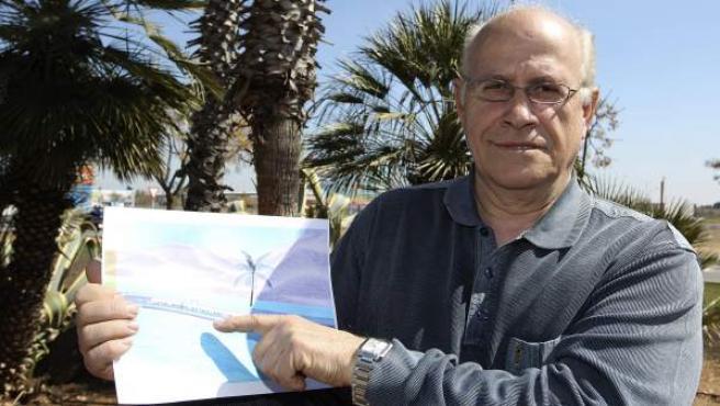 Antonio Ibáñez de Alba, el inventor de Ciudad Real que ha patentado un túnel de alta tecnología fabricado con materiales plásticos.