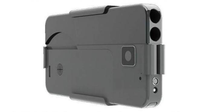 Así es el arma de fuego que simula ser un 'smartphone'.