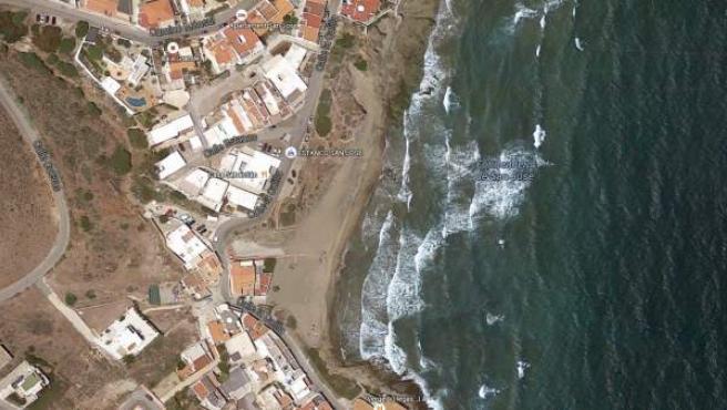 Playa en San José, núcleo perteneciente al municipio de Níjar.