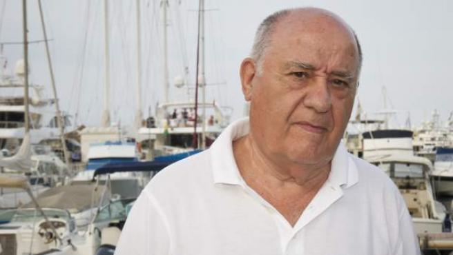 El empresario gallego Amancio Ortega.