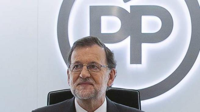 Fotografía facilitada por el PP, del presidente del Gobierno en funciones, Mariano Rajoy.
