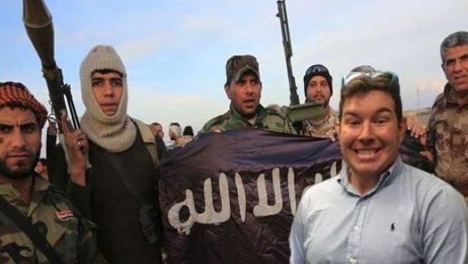 Ben Innes con el Estado Islámico.