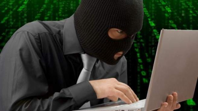 Un pirata informático.