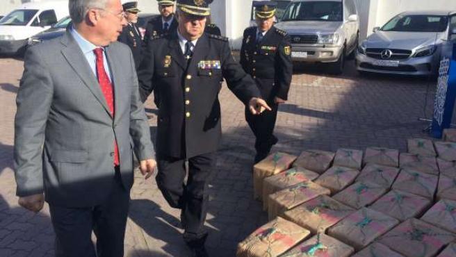 Intervenidas 3,5 toneladas de hachís en La Línea