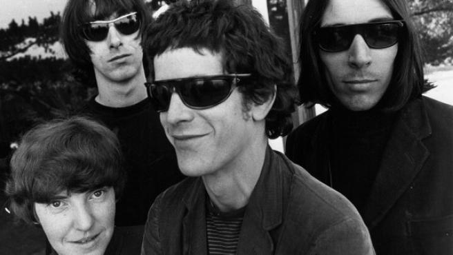 La Velvet Underground en 1966. Desde la izquierda: 'Moe' Tucker, Sterling Morrison, Lou Reed y John Cale