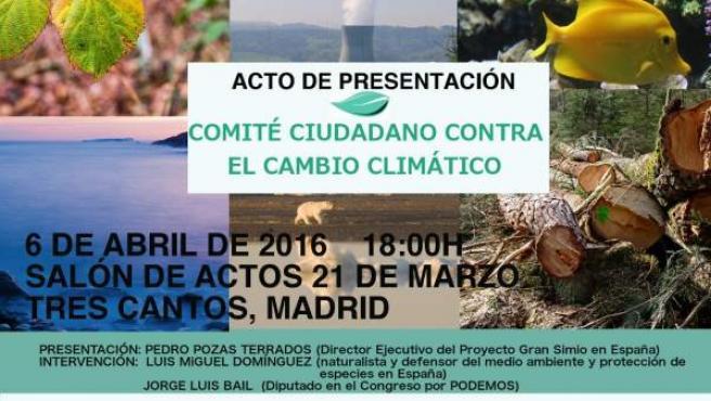 El Proyecto Gran Simio impulsa por primera vez en España la creación de un Comité Ciudadano contra el Cambio Climático.