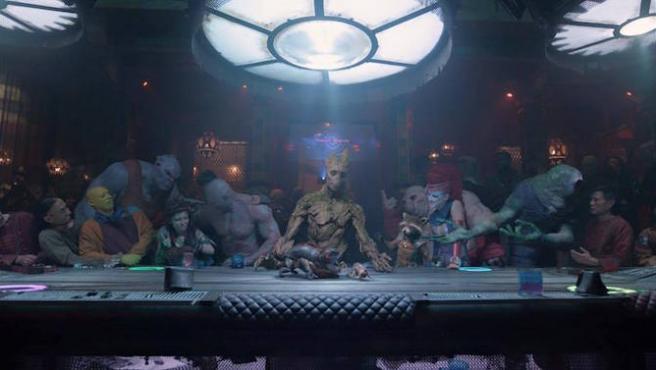 'Guardianes de la galaxia Vol. 2': La última cena de Groot
