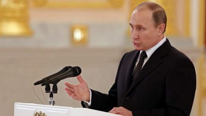 El presidente ruso Vladimir Putin.
