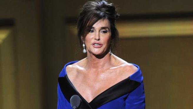 Caitlyn Jenner en los 25 premios Glamour Women of the Year en Nueva York.