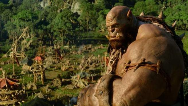 Escena de la película 'Warcraft: El origen'.