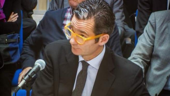 Iñaki Urdangarin declaró como acusado en el juicio del caso Nóos, en el que se sienta en el banquillo junto a su esposa, la infanta Cristina, y a otras 15 personas.