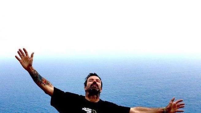 El cantante Pau Donés, feliz tras superar el cáncer de colon.