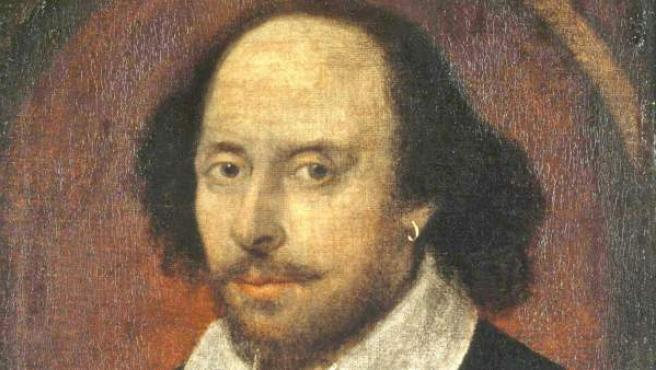 Retrato atribuido al dramaturgo inglés William Shakespeare.