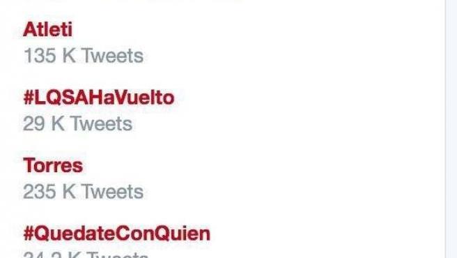 El hashtag #CambiandoLaRegión de los socialistas murcianos, tendencia en Twitter