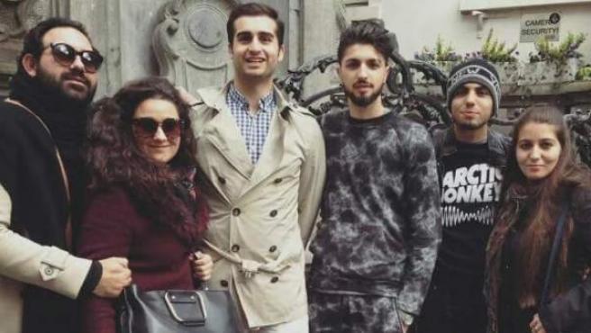 Visita de jóvenes gitanos españoles al Parlamento Europeo por la Roma Week.