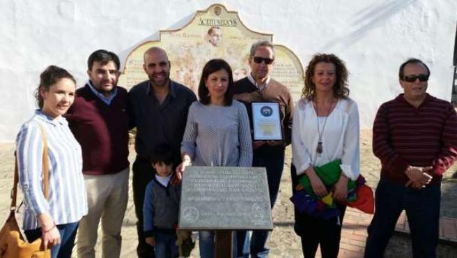 Homenaje a Brigadas Internacionales en Lopera (Jaén)
