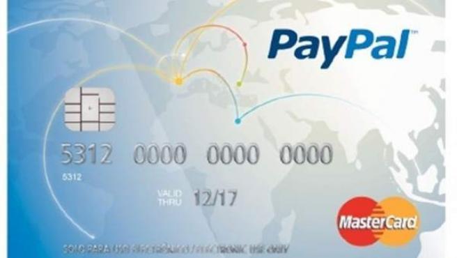 Tarjeta prepago de PayPal.