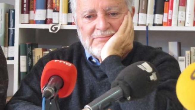 El fundador del FCSM, Julio Anguita