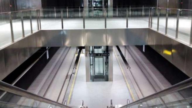 Estación del Metro de Granada en Méndez Núñez