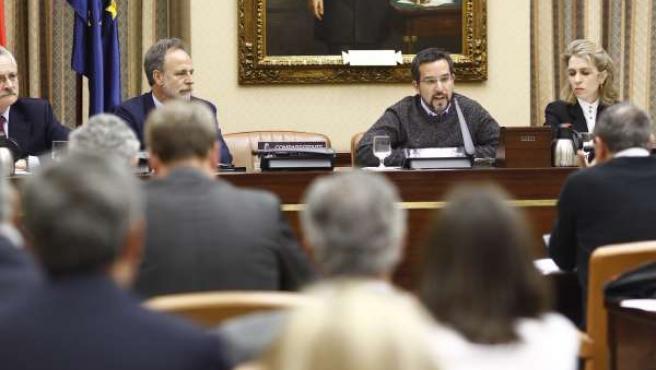 Sergio Pascual en la Comisión de Fomento del Congreso