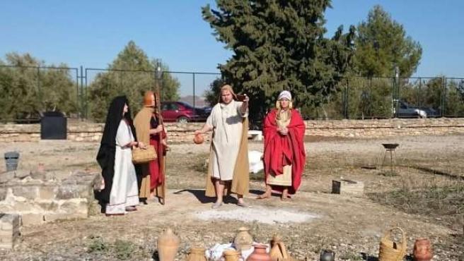Visita teatralizada a las tumbas principescas de Toya y Hornos
