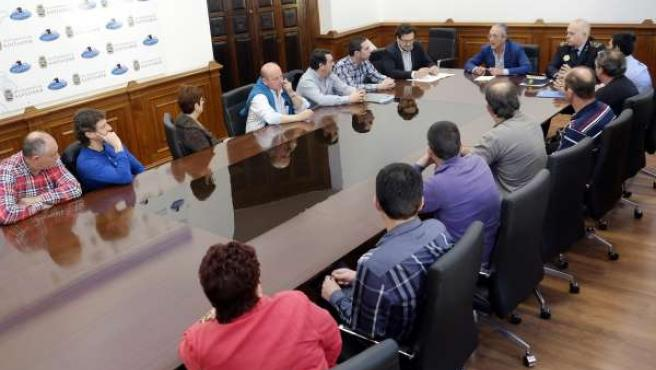 'Reunión Ayto Con Taxistas
