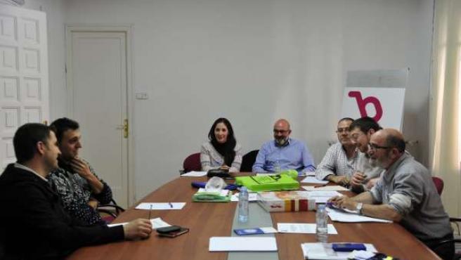 Reunión de las federaciones vecinales de Zaragoza y Teruel