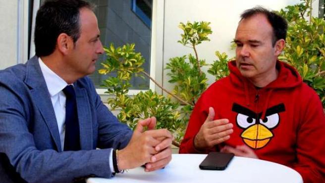 Reunión de Info con uno de los creadores de Angry birds