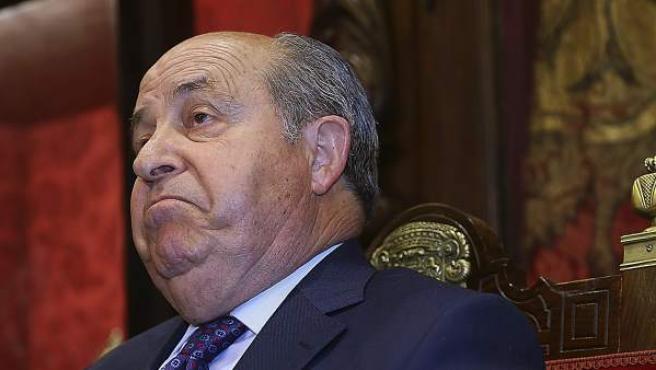 José Torres Hurtado en su comparecencia ante los medios en Granada.
