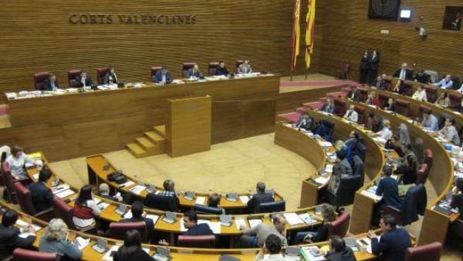 Pleno de las Corts Valencianes. Archivo