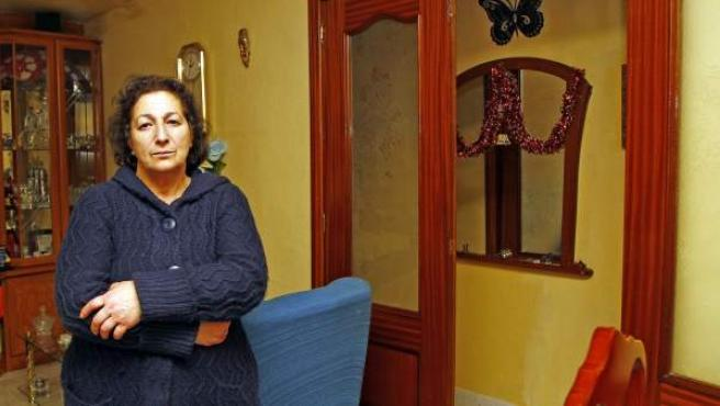 El hogar de Pilar es uno de los afectados por la pobreza energética en la Comunidad de Madrid.
