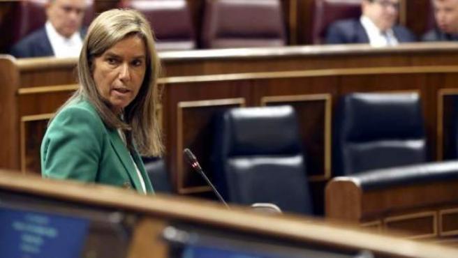La exministra de Sanidad Ana Mato, en una imagen de archivo en el Congreso de los Diputados.